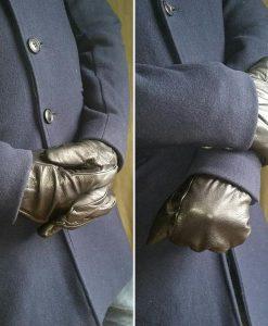 eksklusive-sorte-gentleman-læderhandsker